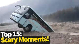 Video Top 15 Scary Moments Caught On Camera MP3, 3GP, MP4, WEBM, AVI, FLV September 2019