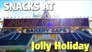 Snacks at Jolly Holiday Bakery Cafe | Disneyland