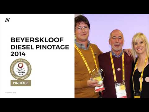 IWSC 2018 Pinotage Trophy winner