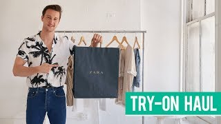 Zara Spring Try-on Haul 2018 | Men's Fashion | Marcel Floruss