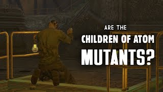 Are the Children of Atom Mutants? Clues at Jalbert Brothers Disposal - Fallout 4 Lore