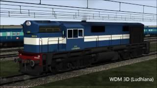 WDM 3D & WAG 7 in TS 2015 (Indian Railways)