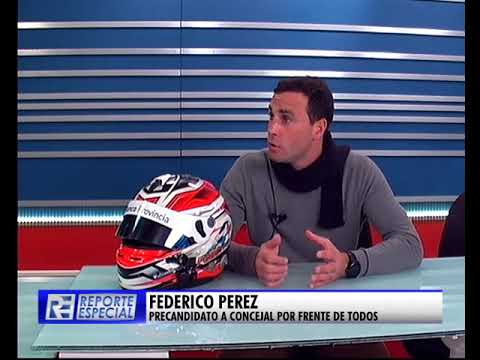 "Federico Pérez: ""Está la posibilidad de reflotar el autódromo"""