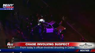 BREAKING: Suspect from officer-involved shooting in Dallas, TX in custody (FNN)