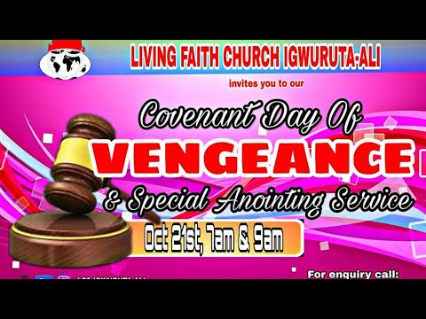 Download Covenant Day Of Vengeance October 21 2018 First And Second