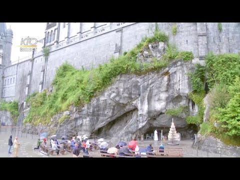 Chapelet à Lourdes du 29 juin 2020