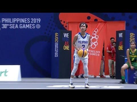 Full Game: Philippines vs Myanmar | 3X3 Basketball W Prelim Round | 2019 SEA Games