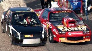 ДУЭЛЬ БЕЗ ОГРАНИЧЕНИЙ: Chevrolet Camaro vs ВАЗ-2110 РПД
