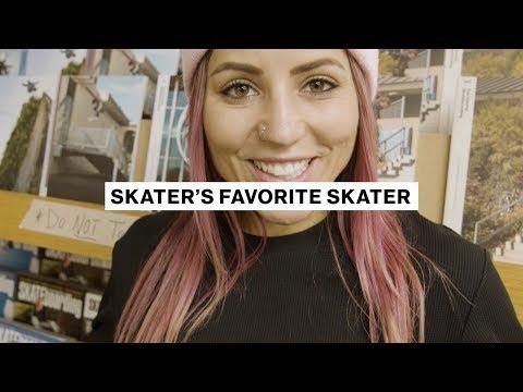 Skater's Favorite Skater  |  Leticia Bufoni  |  Transworld Skateboarding