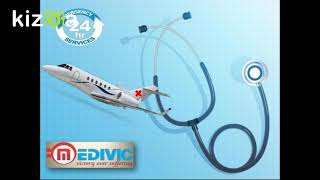 Use Peerless Emergency Air Ambulance in Gorakhpur by Medivic