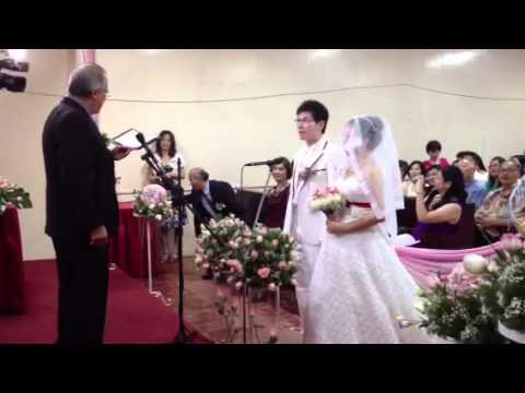 Anne and DD wedding ceremony