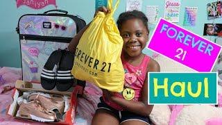 KIDS FOREVER 21 TRY ON HAUL + MORE!!!!