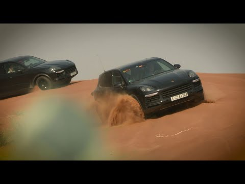 Global endurance test for the new Cayenne