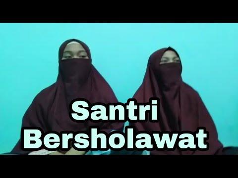 Santri BerSholawat || Allahu allahu - Allahurabbuna