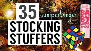 35 STOCKING STUFFERS! Christmas Inspiration |Juniper Ginger
