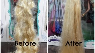 How To Fix Doll Hair