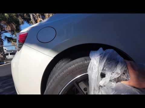 2014 Scion FRS / Subaru BRZ with 18x8.5 Stock Height