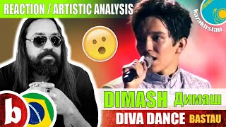 Brazilian Singer reacts DIMASH! DIVA DANCE Bastau (SUBS)