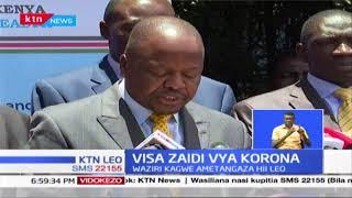 Waziri Kagwe atangaza visa zaidi vya Corona nchini hii leo, jumla ya watu 7 wathibitishwa