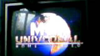 MCA Universal Home Video Logo VideoTape