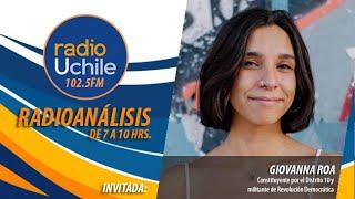 Giovanna Roa se refiere al trabajo de la comisión de DD.HH. de la Convención Constitucional