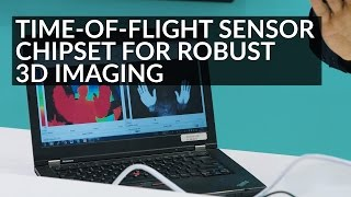 NEW Time-Of-Flight (TOF) Sensor Chipset for Robust 3D Imaging - Product Demo #36