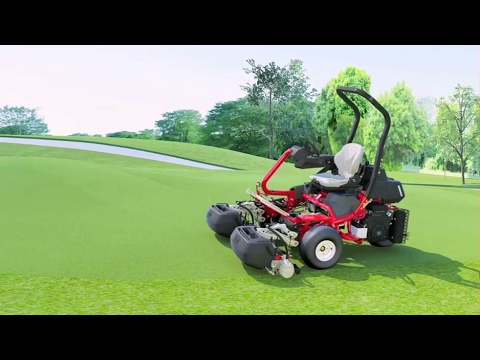 Toro® Greensmaster® TriFlex™ Riding Greensmower Overview