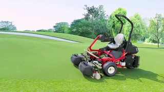 Toro Greensmaster TriFlex™ Riding Greensmower Overview