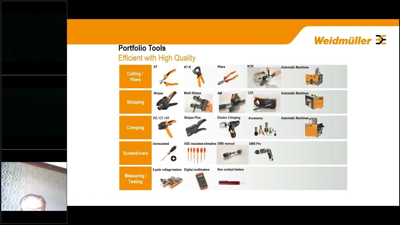 Weidmuller Tools Overview