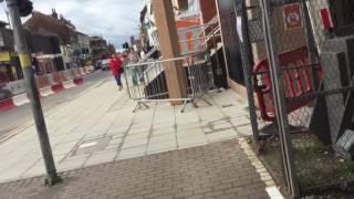 720p HD Tour Of BRAND NEW Lincoln High Street Footbridge + Closure Monday 27.06.2016
