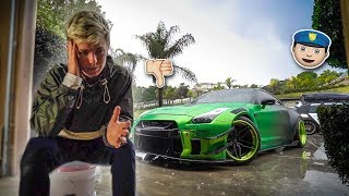 COP UNLAWFULLY BANS MY GTR FROM PUBLIC ROADS! *speaking out*