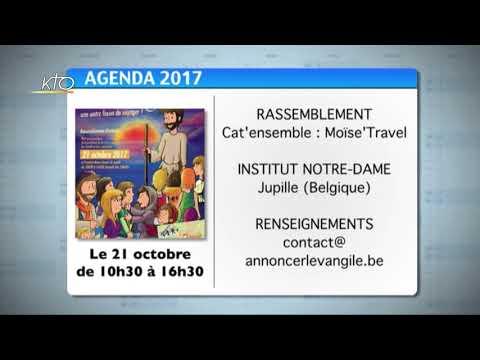 Agenda du 16 octobre 2017