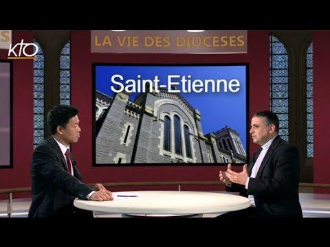 Mgr Dominique Lebrun - Diocèse de Saint-Etienne
