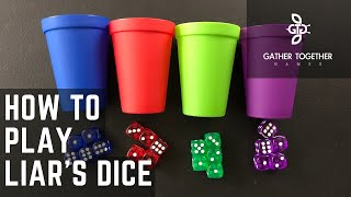 How To Play Liars Dice