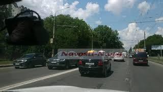 В Николаеве автомобильная пробка растянулась на несколько километров. ВИДЕО