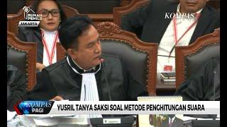 Dicecar Yusril Ihza Soal Metode Penghitungan Suara, Saksi Prabowo Ungkap Pakai Kajian Sendiri