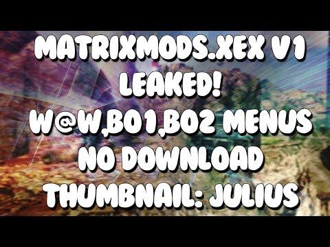 Matrix BO2 Host/Pre-Game & Trickshot Mod Menu JTAG/RGH