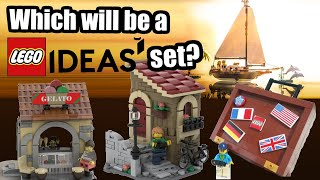 LEGO Ideas Dream Holiday - Which Of These Will Become A Promo Set?