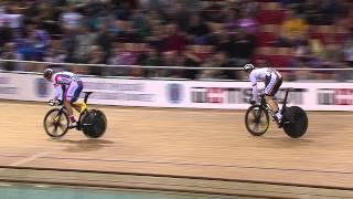 BOTTICHER v DMITRIEV Gold Mens Sprint Final Race , 2013 UCI World Track Championships