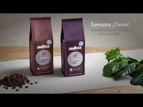 Kaffe Lavazza Tierra Selection Hele Bønner 1000g