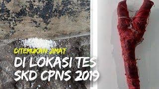 Ditemukan Jimat di Beberapa Lokasi Tes SKD CPNS 2019, Ada yang Berbentuk Ketapel