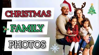 Family Holiday Photoshoot📸 2019 | Behind The Scenes | Outfit Ideas | Family Photos👨👩👧👦