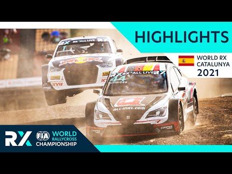 世界ラリークロス 第1戦スペイン(バルセロナ)2021年のDay1ハイライト動画