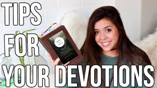 Tips for Your Devotion Time! Apps, Planning, + MORE