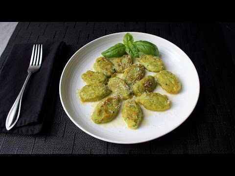 Basil Ricotta Gnocchi Recipe - How to Make Easy Ricotta Cheese Dumplings
