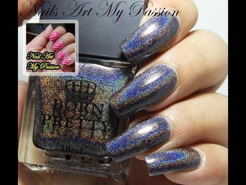 DIY Holographic Nails with Shine In the Dark