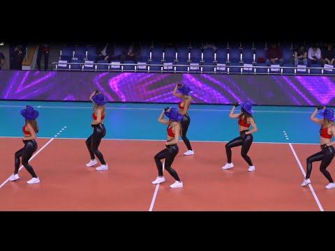 Lucky Demons Cheerleaders Группа поддержки ПГК ЦСКА (Москва). Cowboy 's dance