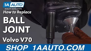 How To Replace Ball Joint 01 07 Volvo V70