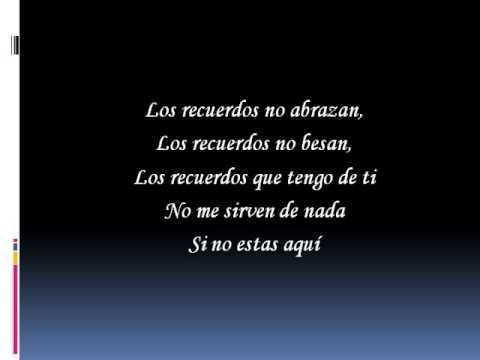 Los recuerdos no abrazan - Luciano Pereyra