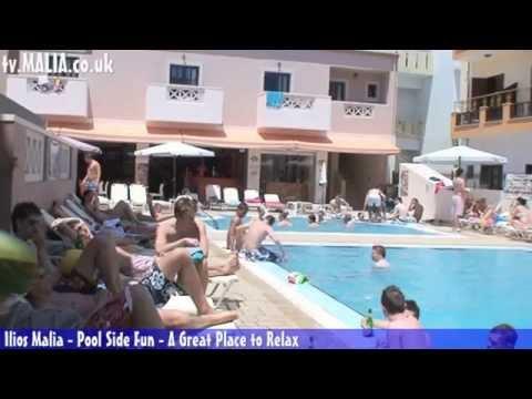Ilios Malia - A pool side video
